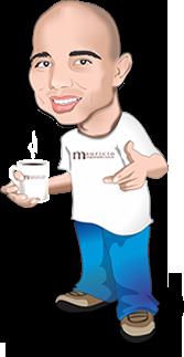 Caricatura Mauricio Programador