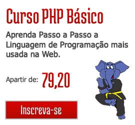 Aproveite o Curso de PHP Básico com 20% de Desconto