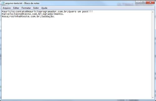 Imagem do Arquivo Texto
